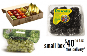 a small fruit box