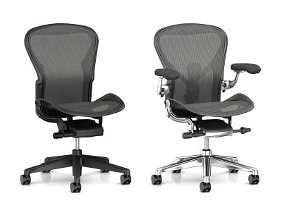 Office furniture herman miller chairs for Vancouver Offices. Office supplies one monthly invoice.