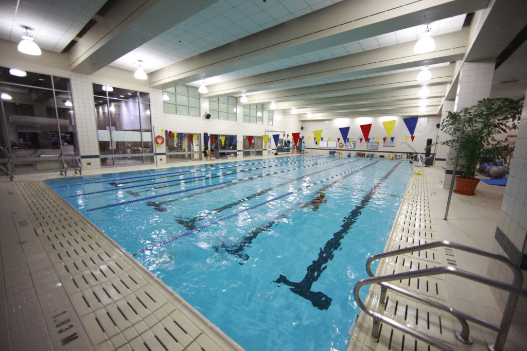 The YMCA swimming pool in Vancouver offers corporate deals for offices.