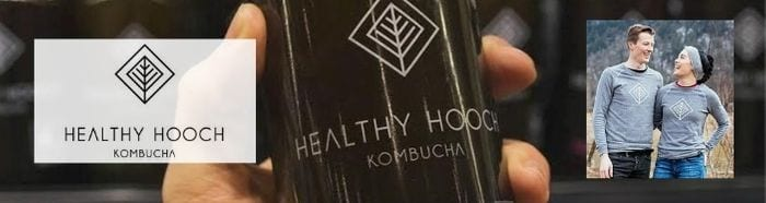 Kombucha drink made in Vancouver by the Healthy Hooch Company