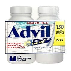 Ibuprofen Advil Liqui-Gel 2 pck | Fruitfull Offices